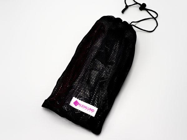 PullUp Bands - Set of 3 with Bag - Black Mesh bag