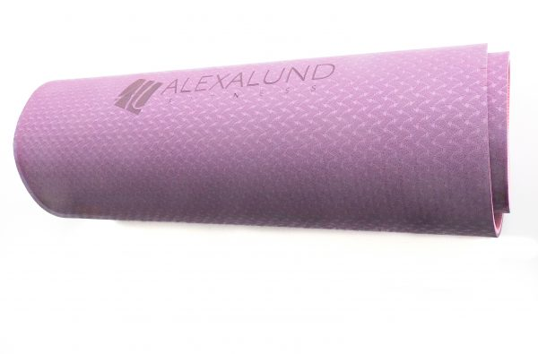 Alexa Lund Fitness Pink Yoga Mat with logo- Standard size